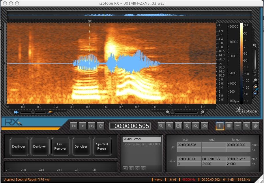 Woody's SOUND ADVICE › RAVE: iZotope's RX Audio Restoration